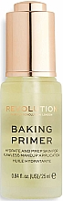 Parfums et Produits cosmétiques Base pour visage - Makeup Revolution Baking Primer
