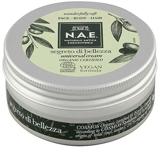 Crème multi-usages - N.A.E. Segreto di Bellezza Universal Cream — Photo N1