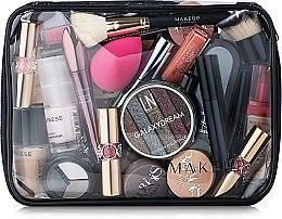 Parfums et Produits cosmétiques Trousse de toilette transparente Visible Bag, 25x18x8cm (sans contenu) - MakeUp