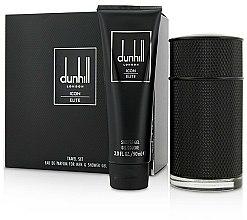 Parfums et Produits cosmétiques Alfred Dunhill Icon Elite - Coffret (eau de parfum/100ml + gel douche/90ml)
