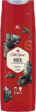 Parfums et Produits cosmétiques Shampooing et gel douche au charbon - Old Spice Rock With Charcoal Shower Gel + Shampoo