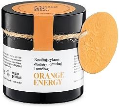 Parfums et Produits cosmétiques Crème à l'huile de fleur d'orange amère pour visage - Make Me BIO Orange Energy