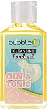 Parfums et Produits cosmétiques Gel antibactérien pour mains, Gin tonic - Bubble T Cleansing Hand Gel Gin & Tonic