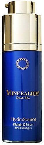 Sérum à la vitamine C pour visage - Mineralium Hydra Source Vitamin C Serum