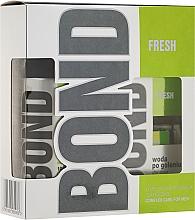 Parfums et Produits cosmétiques Set pour Homme - Bond Fresh (déodorant/150ml + lotion après-rasage/100ml)