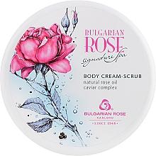 Parfums et Produits cosmétiques Crème-gommage à l'huile de rose pour corps - Bulgarian Rose Signature Spa Body Cream-Scrub