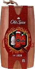 Parfums et Produits cosmétiques Coffret cadeau - Old Spice Captain Wooden (deo/50g + sh/gel/250ml + ash/lot/100ml)