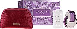 Parfums et Produits cosmétiques Bvlgari Omnia Crystalline - Coffret cadeau (eau de toilette/65 + lotion corps/2x75ml + trousse)