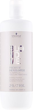 Révélateur enrichie en huile 2% - Schwarzkopf Professional Blondme Premium Developer 2%