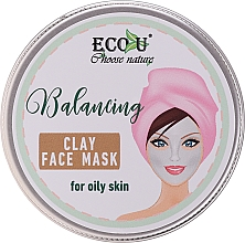 Parfums et Produits cosmétiques Masque équilibrant à l'argile blanche pour visage - Eco U Balancing Clay Face Mask For Oily Skin