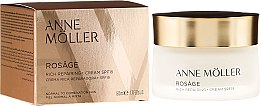 Parfums et Produits cosmétiques Crème de jour à l'huile d'églantier - Anne Moller Rosage Rich Repairing Cream SPF15
