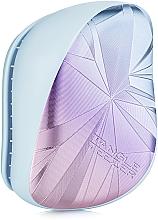 Parfums et Produits cosmétiques Brosse à cheveux compacte - Tangle Teezer Compact Styler Smashed Holo Blue