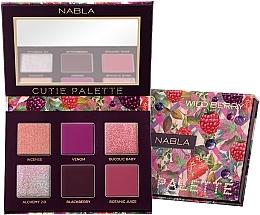 Parfums et Produits cosmétiques Palette de fards à paupières - Nabla Cutie Collection Palette Wild Berry