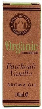 Huile aromatique au patchouli et vanille - Song of India Patchouli Vanilla Oil — Photo N1