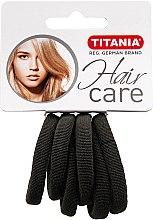 Parfums et Produits cosmétiques Élastiques à cheveux, 6 pcs, gris - Titania