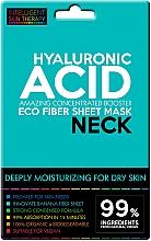 Parfums et Produits cosmétiques Masque tissu à l'acide hyaluronique pour cou - Beauty Face IST Extremely Moisturizing Booster Neck Mask Hyaluronic Acid
