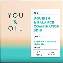 Parfums et Produits cosmétiques Savon revitalisant pour peaux mixtes - You & Oil Nourish & Balance Combination Skin