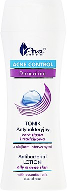 Tonique antibactérien aux huiles essentielles pour visage - Ava Laboratorium Acne Control Antibacterial Lotion