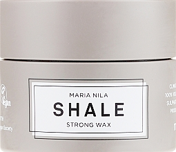Parfums et Produits cosmétiques Cire coiffante fixation forte pour cheveux courts - Maria Nila Shale Strong Wax