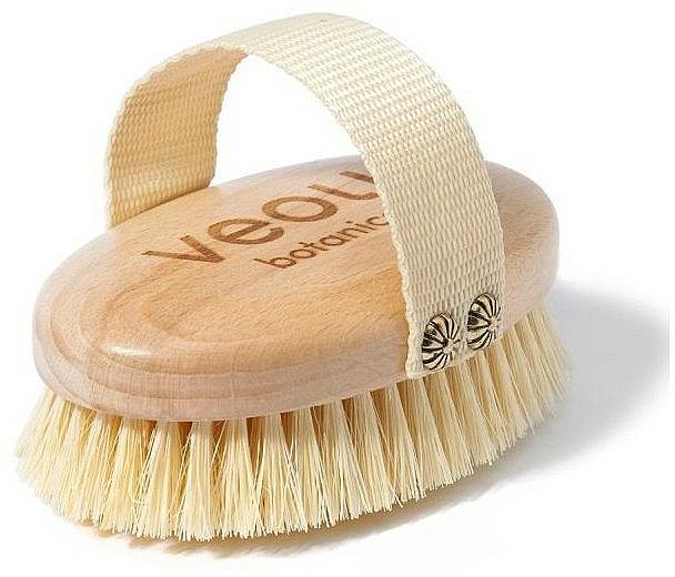 Brosse de massage nettoyante pour corps - Veoli Botanica Just Brush It