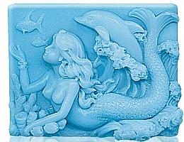Parfums et Produits cosmétiques Savon glycériné Nymphe - Bulgarian Rose Glycerin Fragrant Soap Blue Mermaid