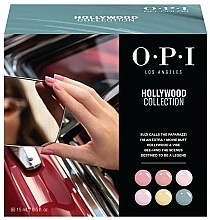 Parfums et Produits cosmétiques Coffret - O.P.I Gel Color Hollywood Spring 2021 Add-On Kit #1
