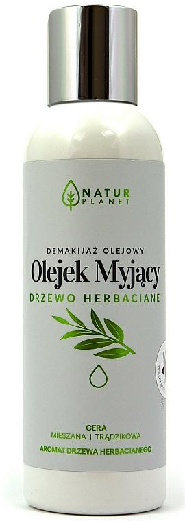 Huile nettoyante pour visage - Natur Planet Washing Oil Tea Tree