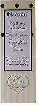 Parfums et Produits cosmétiques Nacomi Argan Oil Moisturized Beautiful Skin - Coffret(crème de jour/50ml + crème de nuit/50ml + crème contour des yeux/15ml)