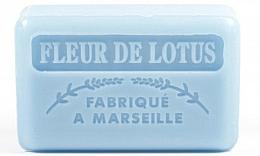 Parfums et Produits cosmétiques Savon de Marseille Fleur de lotus - Foufour Savonnette Marseillaise Fleur De Lotus