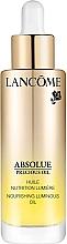 Parfums et Produits cosmétiques Huile nutrition lumière pour visage - Absolue Precious Cells Nourishing Luminous Oil