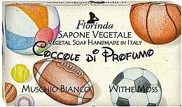 Parfums et Produits cosmétiques Savon naturel Musc blanc - Florinda Sapone Vegetale Vegetal Soap White Moss