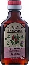 Parfums et Produits cosmétiques Huile de bardane au piment rouge pour cheveux - Green Pharmacy