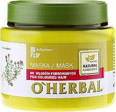 Parfums et Produits cosmétiques Masque à l'extrait de thym pour cheveux colorés - O'Herbal