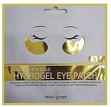 Parfums et Produits cosmétiques Patchs hydrogel à l'or et collagène pour les yeux - BeauuGreen Collagen & Gold