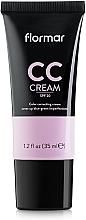 Parfums et Produits cosmétiques CC crème anti-cernes et décoloration du visage - Flormar CC Cream Anti-Dark Circles
