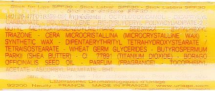 Stick solaire au beurre de karité pour lèvres SPF30 - Uriage Suncare product — Photo N3