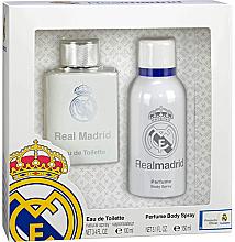 Parfums et Produits cosmétiques Air-Val International FC Real Madrid - Set (eau de toilette/100ml + déodorant spray parfumé /150ml)