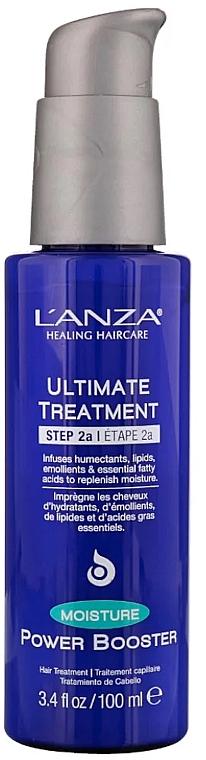 Traitement aux lipides et acides essentielles pour cheveux - L'Anza Ultimate Treatment Moisture Power Booster