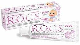 Parfums et Produits cosmétiques Dentifrice à l'extrait de tilleul - R.O.C.S. Baby