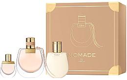 Parfums et Produits cosmétiques Chloé Nomade - Coffret (eau de parfum/75ml + eau de parfum/5ml + lotion corporelle/100ml)