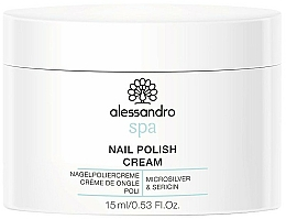 Parfums et Produits cosmétiques Base d'ongles - Alessandro International Spa Nail Polish Cream