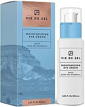 Parfums et Produits cosmétiques Crème aux minéraux de la mer Morte pour yeux - Vie De Sel Moisturizing Eye Cream