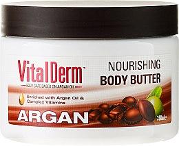 Parfums et Produits cosmétiques Beurre à l'huile d'argan et vitamines pour cheveux - VitalDerm Argana