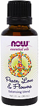 Parfums et Produits cosmétiques Mélange d'huiles essentielles - Now Foods Essential Oils Peace-Love & Flowers Balancing Blend