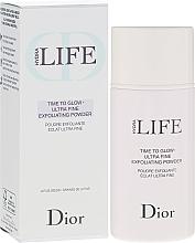 Parfums et Produits cosmétiques Poudre exfoliante éclat pour visage - Dior Hydra Life Time To Glow Ultra Fine Exfoliating Powder
