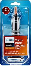 Parfums et Produits cosmétiques Tondeuse pour nez et oreilles - Philips NT1150/10