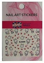 Parfums et Produits cosmétiques Autocollants pour ongles - Ronney Professional Nail Art Stickers