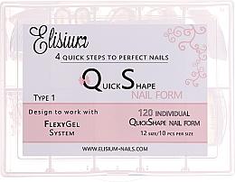 Parfums et Produits cosmétiques Extensions d'ongles réutilisables,Type 1 - Elisium