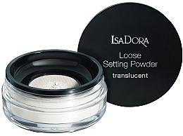 Parfums et Produits cosmétiques Poudre libre transparente pour visage - IsaDora Loose Setting Powder Translucent