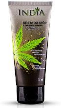 Parfums et Produits cosmétiques Crème à l'huile de chanvre pour pieds - India Foot Cream With Cannabis
